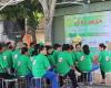 """Lễ ra quân vì môi trường """"Xanh - Sạch - Đẹp - An ninh"""" tại KDC Nam Long, P.Tân Thuận Đông, Q.7"""